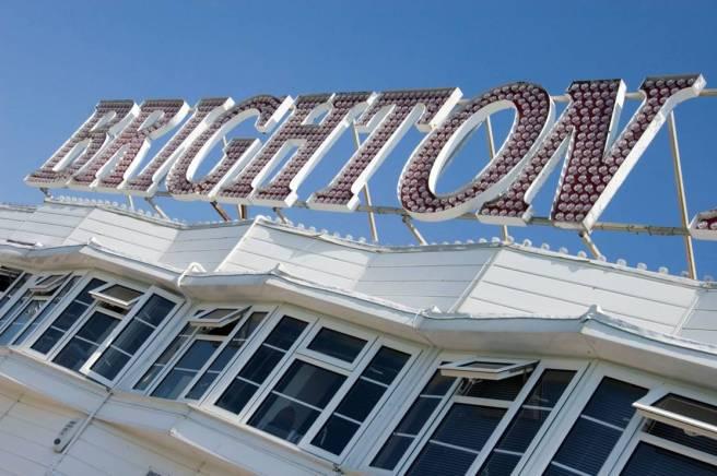 Brighton Sign low