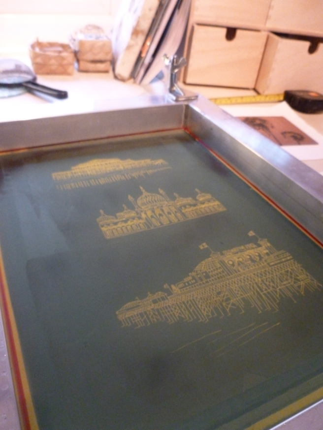 Making images in glass using silkscreens - a little tutorial-3