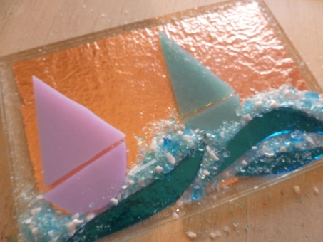 How to Make Fused Glass Tiles