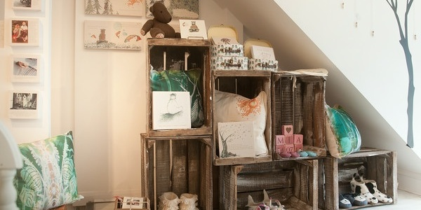 Handmade gifts in Little beach Boutique in the North Laine