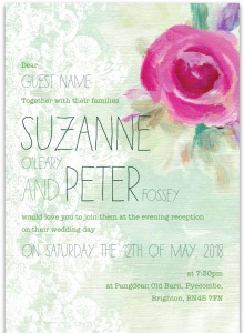 Ivy Ellen in Burgess Hill, West Sussex, made our wedding stationery