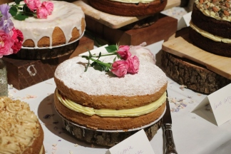 Our cakes from Ossetta on North Road in Brighton